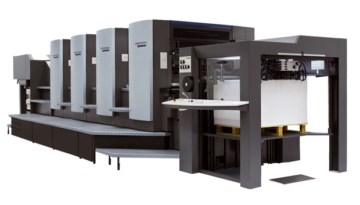 Офсетная печатная машина Heidelberg SpeedMaster 102-5+L